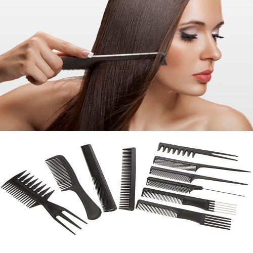 Pro 10pcs Hair Combs Kits Salon Barber Hairbrush Anti-static Comb Brushes Hair Care Styling Tools SetHealth &amp; Beauty<br>Pro 10pcs Hair Combs Kits Salon Barber Hairbrush Anti-static Comb Brushes Hair Care Styling Tools Set<br>