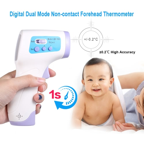 Digital Infrared Forehead Thermometer Non-contact Temperature Gauge High Sensitivity Temperature for BabyHealth &amp; Beauty<br>Digital Infrared Forehead Thermometer Non-contact Temperature Gauge High Sensitivity Temperature for Baby<br>
