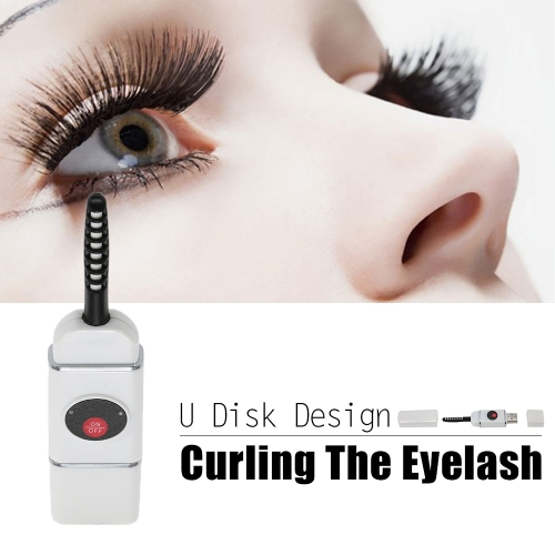Electric Heated Eyelash Curler Rechargeable U Disk Shaped USB Connector Charge Mini Portable Size Beauty Makeup ToolsHealth &amp; Beauty<br>Electric Heated Eyelash Curler Rechargeable U Disk Shaped USB Connector Charge Mini Portable Size Beauty Makeup Tools<br>