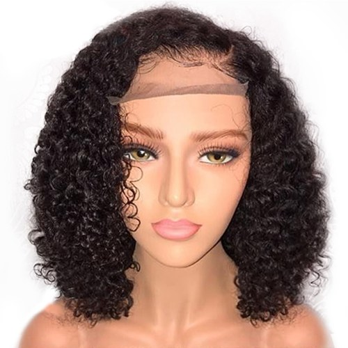 High-temperature Synthetic Fiber Small Curly Wigs