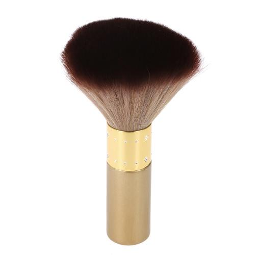 Anself peluquero suave del cuello de la cara del plumero del cepillo de limpieza Cepillo para el pelo de cepillo de barrido del salón de la Casa Limpiadores de pelo cepillo de pelo de nylon