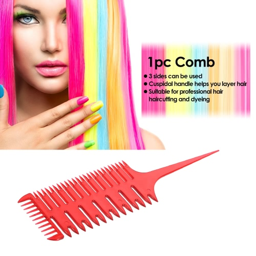 1pc Barber Styling Comb Professional Salon Comb Plastic Haircutting Dyeing Tool for HairdressingHealth &amp; Beauty<br>1pc Barber Styling Comb Professional Salon Comb Plastic Haircutting Dyeing Tool for Hairdressing<br>
