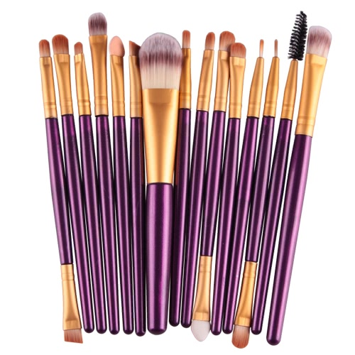 15PCS Professional Eye Shadow Eyebrow Lip Makeup Brush Tools Wool Design Pinceau Maquillage ProfessionnelHealth &amp; Beauty<br>15PCS Professional Eye Shadow Eyebrow Lip Makeup Brush Tools Wool Design Pinceau Maquillage Professionnel<br>