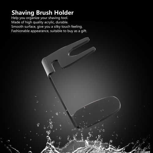 Professional Shaving Brush Holder Black Shaving Stand for Shaving Bowl Acrylic Brush Stand Mens Shaving Tool Male Facial CleaningHealth &amp; Beauty<br>Professional Shaving Brush Holder Black Shaving Stand for Shaving Bowl Acrylic Brush Stand Mens Shaving Tool Male Facial Cleaning<br>