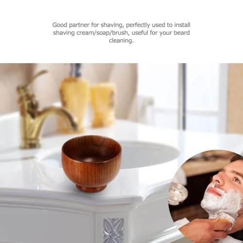 Anself High Quality Wooden Shaving Brush Bowl Shave Cream Soap Cup Male Face Cleaning Soap MugHealth &amp; Beauty<br>Anself High Quality Wooden Shaving Brush Bowl Shave Cream Soap Cup Male Face Cleaning Soap Mug<br>