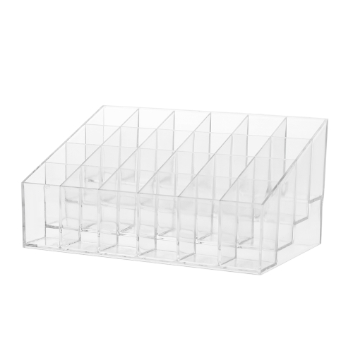 24 Grid Lip Gloss Lipsticks Organizer Transparent ABS Lipstick Holder Lip Gloss Display Stand With 24 GridsHealth &amp; Beauty<br>24 Grid Lip Gloss Lipsticks Organizer Transparent ABS Lipstick Holder Lip Gloss Display Stand With 24 Grids<br>