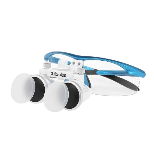 Dental Binocular Loupes 3.5X 420mm Dental Magnifier Optical Glass Dentists Surgical LoupesHealth &amp; Beauty<br>Dental Binocular Loupes 3.5X 420mm Dental Magnifier Optical Glass Dentists Surgical Loupes<br>