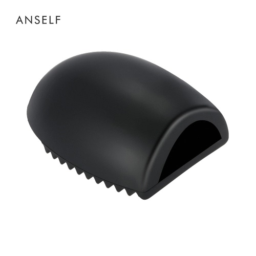 Finger Glove Make Up Brush Washing Silica Gel Cleaner Scrubber Board for Cosmetic Brush Cleaning Mat Rose RedHealth &amp; Beauty<br>Finger Glove Make Up Brush Washing Silica Gel Cleaner Scrubber Board for Cosmetic Brush Cleaning Mat Rose Red<br>