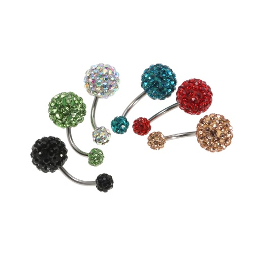 1Pc Belly Ring Navel Button Bar Body Piercing Jewelry Stainless Steel Piercing Bar 10mm&amp;6mm RedHealth &amp; Beauty<br>1Pc Belly Ring Navel Button Bar Body Piercing Jewelry Stainless Steel Piercing Bar 10mm&amp;6mm Red<br>