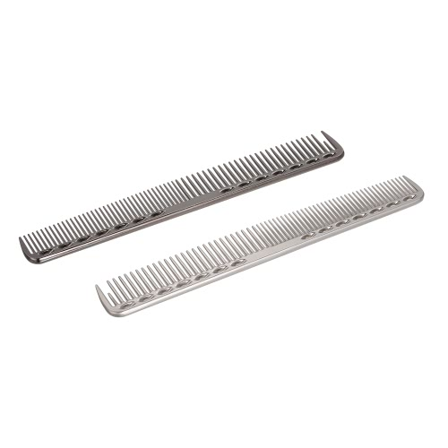 Stainless Steel Hair Comb Professional Hair Salon Hairdressing Steel Comb Hair Cutting Metal Comb SilverHealth &amp; Beauty<br>Stainless Steel Hair Comb Professional Hair Salon Hairdressing Steel Comb Hair Cutting Metal Comb Silver<br>