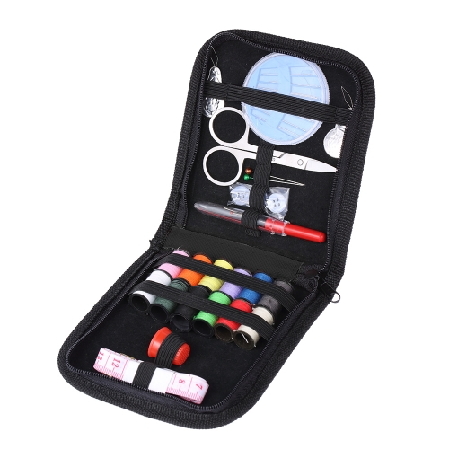 Sewing Tools Kit Scissor Thread Pins Tape Button Thimble Needle Threader Home Travel EmergenciesHealth &amp; Beauty<br>Sewing Tools Kit Scissor Thread Pins Tape Button Thimble Needle Threader Home Travel Emergencies<br>