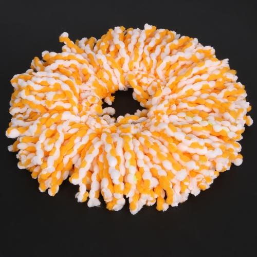 Спиннинг Магия Спин-Моп Микрофибра Вращающиеся головы Шпаргалка для пола 3 цвета Оранжевый