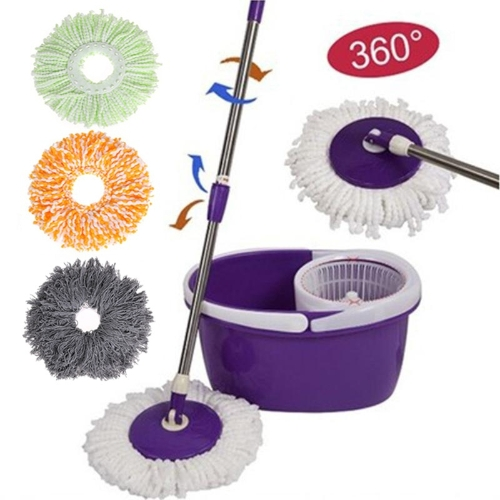 Spinning Magic Spin Mop Microfiber Rotating Heads Mop Floor Swob 4 Colors GreenHome &amp; Garden<br>Spinning Magic Spin Mop Microfiber Rotating Heads Mop Floor Swob 4 Colors Green<br>