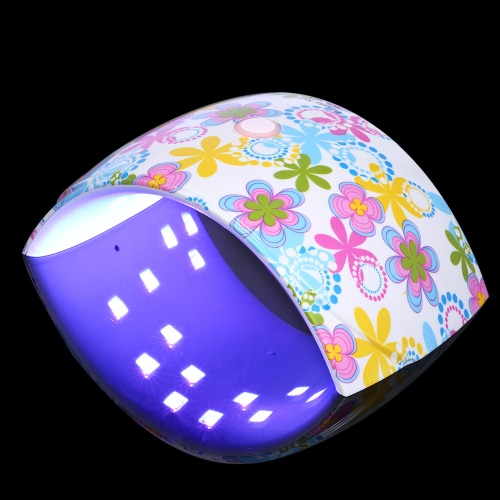 36W LED UV Nail Lamp Nail Gel Dryer Fingernail &amp; Toenail Gel Curing White Light Flower Pattern Nail Art Painting Nail Tool OptionaHealth &amp; Beauty<br>36W LED UV Nail Lamp Nail Gel Dryer Fingernail &amp; Toenail Gel Curing White Light Flower Pattern Nail Art Painting Nail Tool Optiona<br>