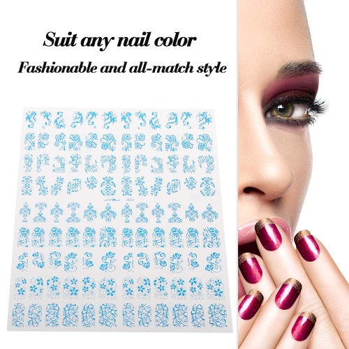 3D Design Nail Art Sticker Flowers 7 Optional Colors Yellow Tip Decal Manicure Stamping DIY Decoration ToolHealth &amp; Beauty<br>3D Design Nail Art Sticker Flowers 7 Optional Colors Yellow Tip Decal Manicure Stamping DIY Decoration Tool<br>