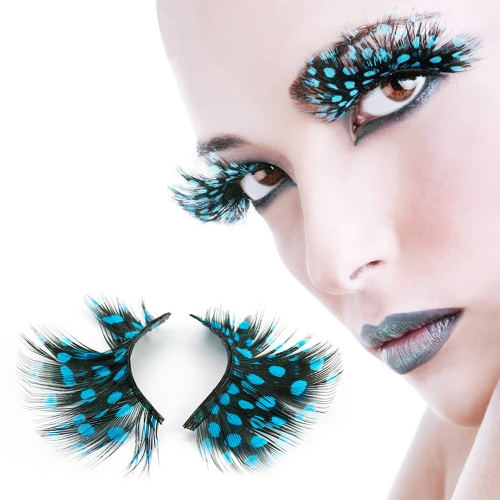 Super Hot Women Fancy Soft Long Feather False Eyelashes Eye Lashes Makeup Party ClubHealth &amp; Beauty<br>Super Hot Women Fancy Soft Long Feather False Eyelashes Eye Lashes Makeup Party Club<br>
