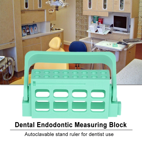 Dental Endodontic Measuring Block Autoclavable Stand Ruler Dentist Measurement Instrument Dental ToolHealth &amp; Beauty<br>Dental Endodontic Measuring Block Autoclavable Stand Ruler Dentist Measurement Instrument Dental Tool<br>