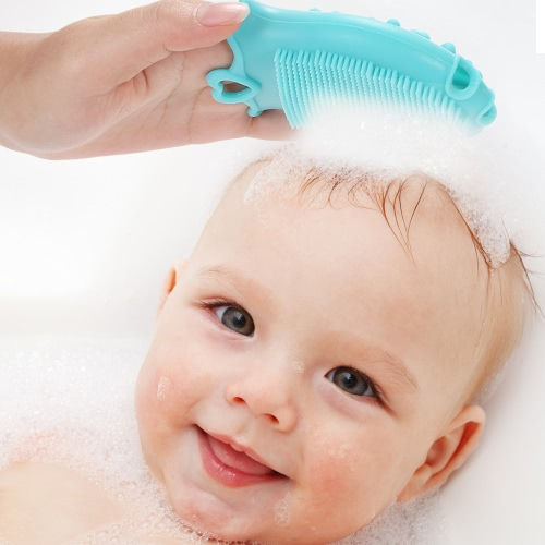 Baby Body Massage Facial Brush Tiptop Scalp Scrubber Silicone Cleansing Bath Shower Brushes For Kids and AdultsHealth &amp; Beauty<br>Baby Body Massage Facial Brush Tiptop Scalp Scrubber Silicone Cleansing Bath Shower Brushes For Kids and Adults<br>