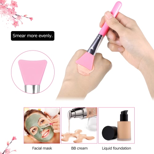 1Pcs Silicone Makeup Brush Facial Mask Foundation Brush Cosmetic Brush Make Up Tool Optional ColorHealth &amp; Beauty<br>1Pcs Silicone Makeup Brush Facial Mask Foundation Brush Cosmetic Brush Make Up Tool Optional Color<br>