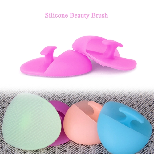 1pc Silicone Gel Facial Cleansing Pad Nose Blackhead Remover Brush Pore CleanerHealth &amp; Beauty<br>1pc Silicone Gel Facial Cleansing Pad Nose Blackhead Remover Brush Pore Cleaner<br>