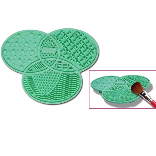 Silicone Cosmetic Make Up Washing Gel Cleaning Mat Foundation Makeup Brush Cleaner Pad Scrubber BoardHealth &amp; Beauty<br>Silicone Cosmetic Make Up Washing Gel Cleaning Mat Foundation Makeup Brush Cleaner Pad Scrubber Board<br>