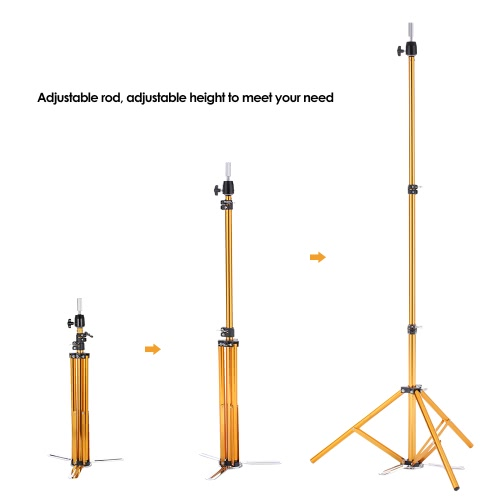 Adjustable Hairdressing Tripod Hairdressing Training Head False Head Holder Hair Wig Mold Holder Stand With Tripod-leg PedalsHealth &amp; Beauty<br>Adjustable Hairdressing Tripod Hairdressing Training Head False Head Holder Hair Wig Mold Holder Stand With Tripod-leg Pedals<br>