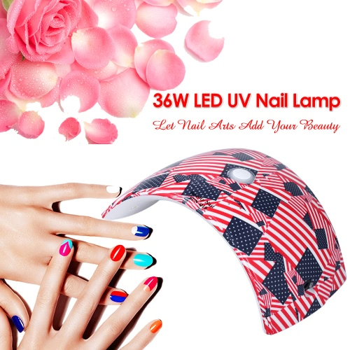 36W LED Nail Lamp UV Nail Dryer Nail Polish Lamp for Fingernail &amp; Toenail Gel Curing White Light Manicure Lamp Nail Tool OptionalHealth &amp; Beauty<br>36W LED Nail Lamp UV Nail Dryer Nail Polish Lamp for Fingernail &amp; Toenail Gel Curing White Light Manicure Lamp Nail Tool Optional<br>
