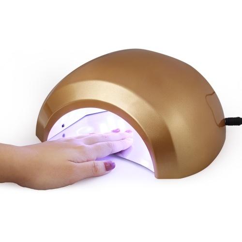 48W УФ-гель светодиодный гвоздь сушилка Smart Nail Dryer