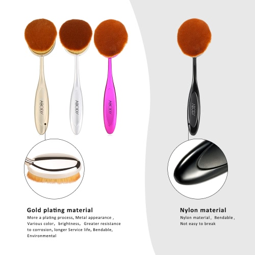 10pc Abody Oval Soft Makeup Brush Set Toothbrush Foundation Cosmetic Cream Powder Blush Kits Professional Makeup Tool Cosmetic BruHealth &amp; Beauty<br>10pc Abody Oval Soft Makeup Brush Set Toothbrush Foundation Cosmetic Cream Powder Blush Kits Professional Makeup Tool Cosmetic Bru<br>