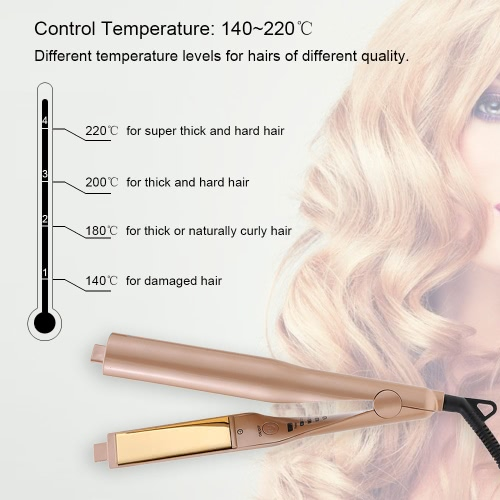 Fashionable 2-In-1 Straightening Curling IronHealth &amp; Beauty<br>Fashionable 2-In-1 Straightening Curling Iron<br>