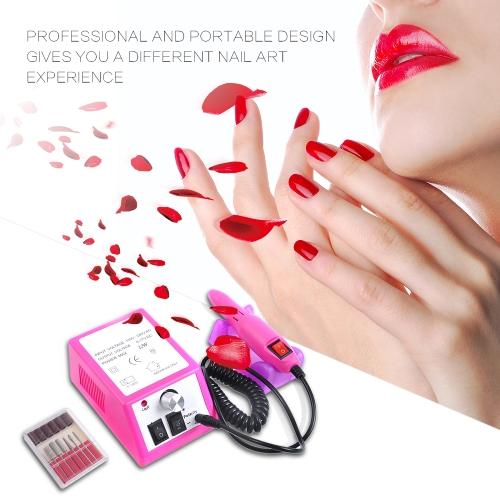 NEW Professional Electric Acrylic Nail Drill File Machine Kit Bits ManicureHealth &amp; Beauty<br>NEW Professional Electric Acrylic Nail Drill File Machine Kit Bits Manicure<br>