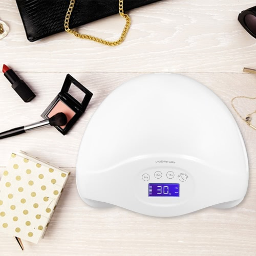 36W UV LED Nail Dryer Nail Lamp Auto Sensor Curing UV LED Nail Gel Polish 15s/30s/60s Timer 2 Modes LCD Display EU PlugHealth &amp; Beauty<br>36W UV LED Nail Dryer Nail Lamp Auto Sensor Curing UV LED Nail Gel Polish 15s/30s/60s Timer 2 Modes LCD Display EU Plug<br>
