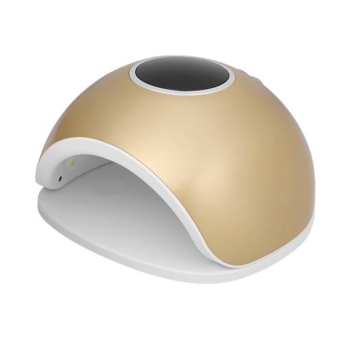 72W светодиодный УФ-гвоздь лампы гвоздь гель сушилка ногтей и ногтей гель отверждения машины ногтей искусства рисования ногтей инструмент