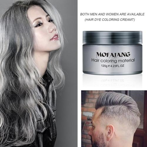 Professional Long lasting Grandma Hair Wax Silver Gray One-Time Dye Color CreamHealth &amp; Beauty<br>Professional Long lasting Grandma Hair Wax Silver Gray One-Time Dye Color Cream<br>