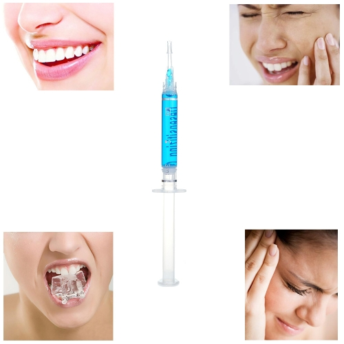 Desensitizing Gel Tooth Wear Tooth Whitening Potassium Nitrate Anti Allergy Lucid SyringeHealth &amp; Beauty<br>Desensitizing Gel Tooth Wear Tooth Whitening Potassium Nitrate Anti Allergy Lucid Syringe<br>
