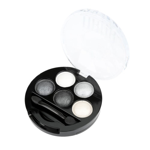 UBUB BRIGHT STEREO Makeup 5 Color Roast Eye Shadow Powder Metallic ShimmerHealth &amp; Beauty<br>UBUB BRIGHT STEREO Makeup 5 Color Roast Eye Shadow Powder Metallic Shimmer<br>