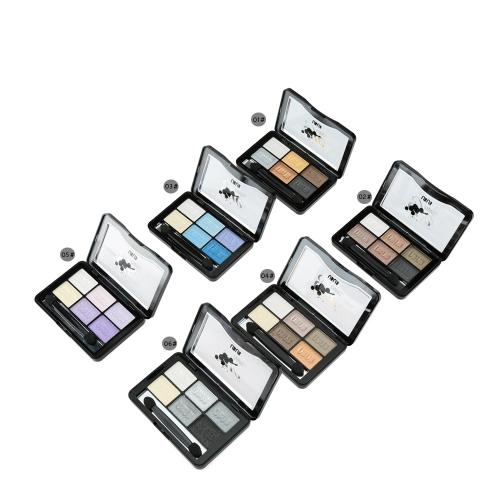 UBUB Makeup Bright 6 Color Eye Shadow Shimmer PowderHealth &amp; Beauty<br>UBUB Makeup Bright 6 Color Eye Shadow Shimmer Powder<br>