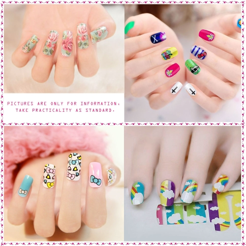 Nail Patch Decals Nail Art Stickers French Manicure Lovely Pattern Beautiful Fashion Accessories DecorationHealth &amp; Beauty<br>Nail Patch Decals Nail Art Stickers French Manicure Lovely Pattern Beautiful Fashion Accessories Decoration<br>
