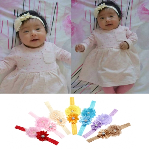 7 Colors Baby Headband Colorful Kids Girls Headband Toddler Infant Lace Ribbon Flower Hair Bow Elastic Band  RedHealth &amp; Beauty<br>7 Colors Baby Headband Colorful Kids Girls Headband Toddler Infant Lace Ribbon Flower Hair Bow Elastic Band  Red<br>