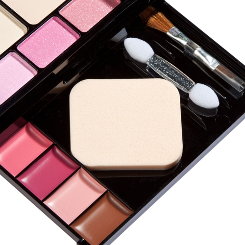 New Makeup Palette Set Eyeshadow Lip Gloss Foundation Powder Blusher Puff ToolHealth &amp; Beauty<br>New Makeup Palette Set Eyeshadow Lip Gloss Foundation Powder Blusher Puff Tool<br>