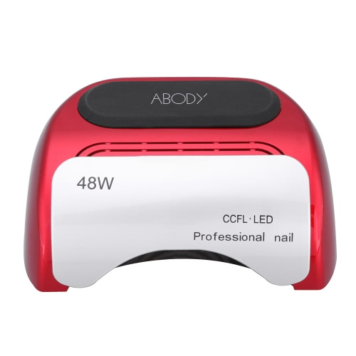 100-240V 48W Professional CCFL + LED UV Lamp Light Beauty Salon Nail Dryer with Automatic Induction Timer Setting RedHealth &amp; Beauty<br>100-240V 48W Professional CCFL + LED UV Lamp Light Beauty Salon Nail Dryer with Automatic Induction Timer Setting Red<br>