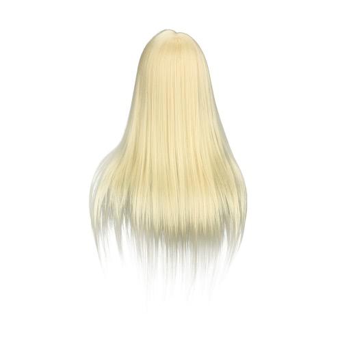 Cosmetology Training Head Model Face Makeup Long Hair False Eyelash Extension Makeup Practice