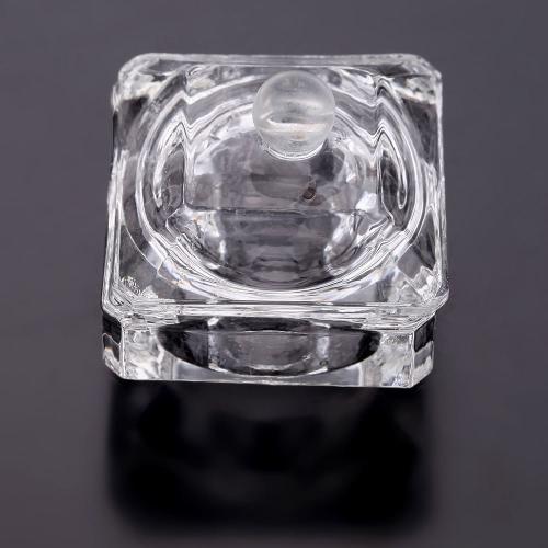 Crystal Glass Nail Art Acrylic Dappen Dish Bowl Cup Liquid Powder with Cap LidHealth &amp; Beauty<br>Crystal Glass Nail Art Acrylic Dappen Dish Bowl Cup Liquid Powder with Cap Lid<br>