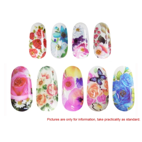 Colorful Beauty Leopard Water Transfer Stickers Nail Art Tips Feather DecalsHealth &amp; Beauty<br>Colorful Beauty Leopard Water Transfer Stickers Nail Art Tips Feather Decals<br>