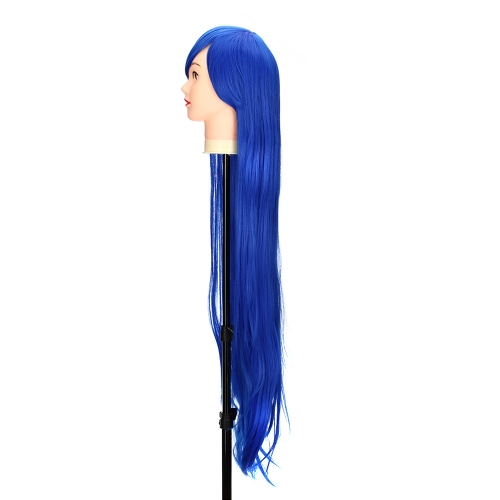 Pure Blue 1m  Long Staight Wig Anime Character Cosplay Stage Role Forehead FringeHealth &amp; Beauty<br>Pure Blue 1m  Long Staight Wig Anime Character Cosplay Stage Role Forehead Fringe<br>