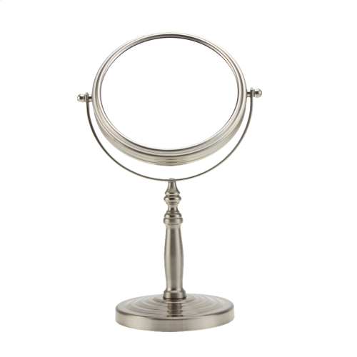 6 Inch 10x Magnification Round Shape Double Dual Side Rotating Makeup Cosmetic Vanity Desk Stand Mirror with Multicycle Base for WHealth &amp; Beauty<br>6 Inch 10x Magnification Round Shape Double Dual Side Rotating Makeup Cosmetic Vanity Desk Stand Mirror with Multicycle Base for W<br>