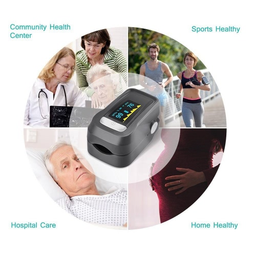 Alarm Digital Oximeter Blood Oxygen Sensor Fingertip Pulse Heart Rate Monitor Meter OLED Display SpO2 Auto Power off Instant ReadHealth &amp; Beauty<br>Alarm Digital Oximeter Blood Oxygen Sensor Fingertip Pulse Heart Rate Monitor Meter OLED Display SpO2 Auto Power off Instant Read<br>