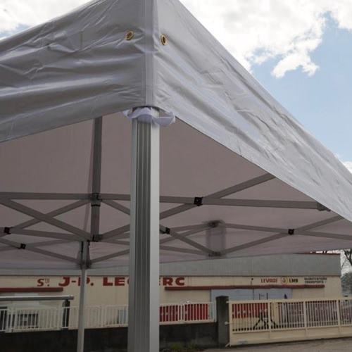 Folding Tent PRO Series 50mm Aluminium Structure in PVC 520g/m? Tarpaulin 2x3m for Professional Needs or Daily Use WhiteHome &amp; Garden<br>Folding Tent PRO Series 50mm Aluminium Structure in PVC 520g/m? Tarpaulin 2x3m for Professional Needs or Daily Use White<br>