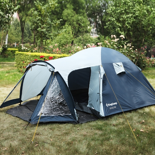 KingCamp Weekend Waterproof Durable Tear, Resistant 3-Person Tent for Self-Drive Travel or Camping With Large Storage SpaceSports &amp; Outdoor<br>KingCamp Weekend Waterproof Durable Tear, Resistant 3-Person Tent for Self-Drive Travel or Camping With Large Storage Space<br>