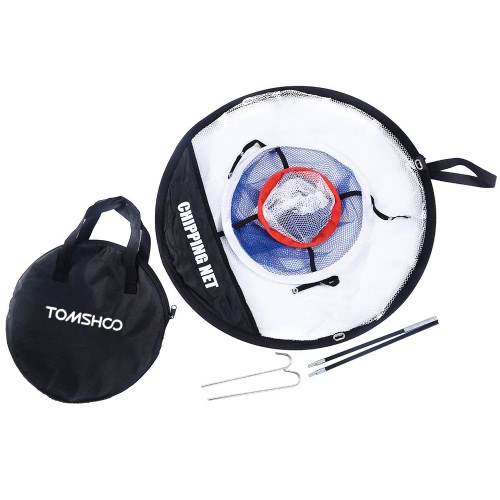 TOMSHOO Portable 20 inch Golf Training Chipping Net Hitting Aid Practice Indoor Outdoor BagSports &amp; Outdoor<br>TOMSHOO Portable 20 inch Golf Training Chipping Net Hitting Aid Practice Indoor Outdoor Bag<br>
